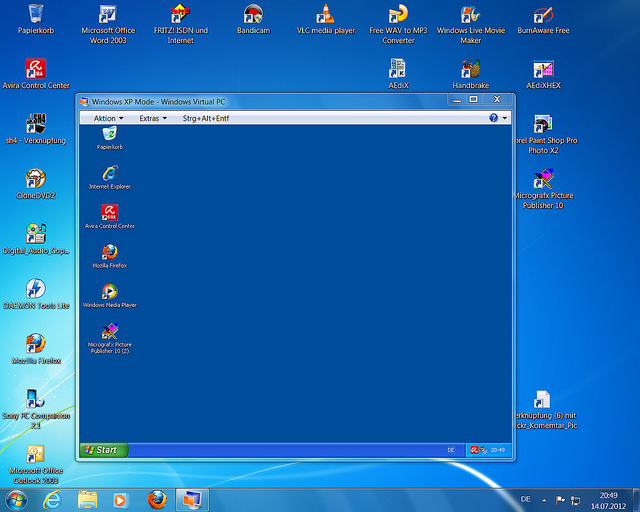 machine windows 7